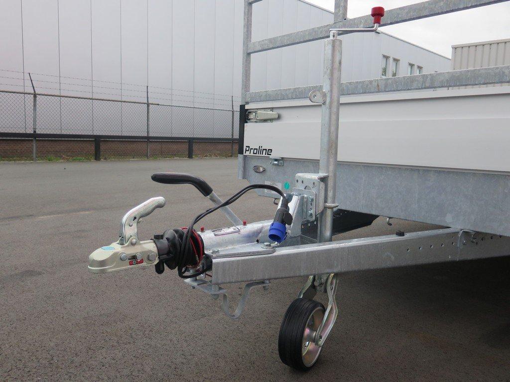 Proline plateauwagen 603x202cm 2700kg verlaagd Aanhangwagens XXL West Brabant 2.0 dissel Aanhangwagens XXL West Brabant