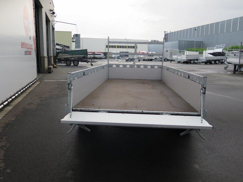 Proline tandemas aanhanger 305x131cm 2000kg alu Aanhangwagens XXL West Brabant 3.0 achter open Aanhangwagens XXL West Brabant
