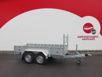 Proline tandemas aanhanger 305x131cm 2000kg alu Aanhangwagens XXL West Brabant 3.0 hoofd Aanhangwagens XXL West Brabant