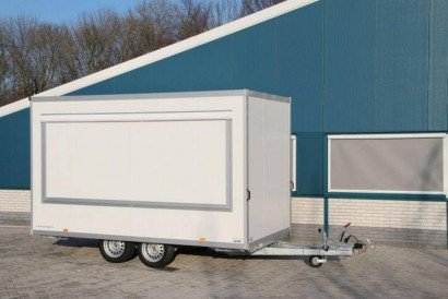 Proline verkoopwagen 397x211x230cm 2000kg verkoopwagens Aanhangwagens XXL West Brabant hoofd