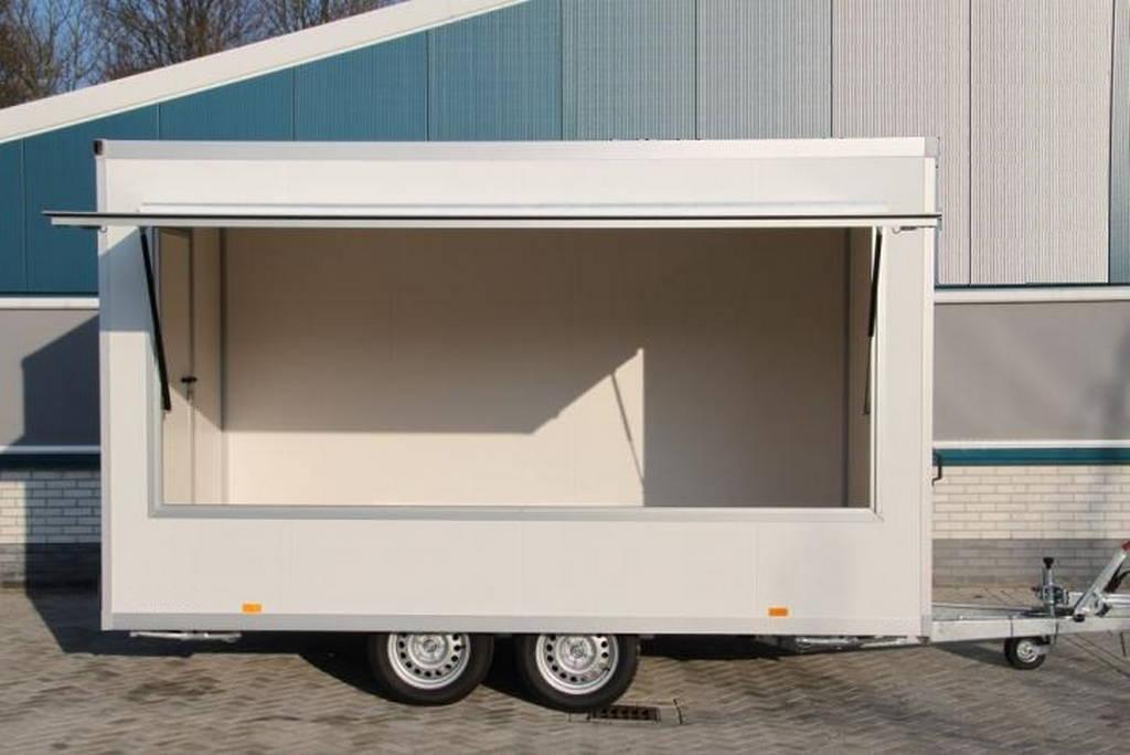 Proline verkoopwagen 397x211x230cm 2000kg verkoopwagens Aanhangwagens XXL West Brabant overzicht Aanhangwagens XXL West Brabant