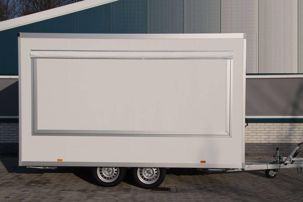 Proline verkoopwagen 397x211x230cm 2000kg verkoopwagens Aanhangwagens XXL West Brabant zijkant Aanhangwagens XXL West Brabant