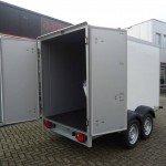 Proline vriesaanhanger 300x160x180cm 2500kg Proline vriesaanhanger 300x160x180cm vriesaanhangwagens Aanhangwagens XXL West Brabant achterdeuren