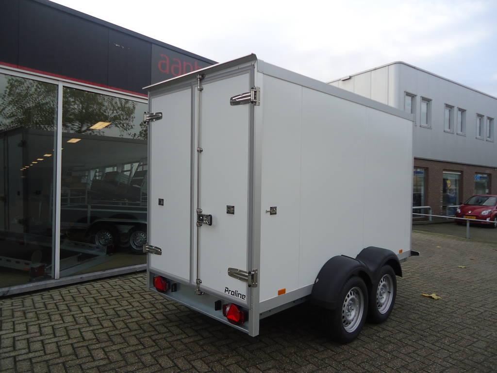 Proline vriesaanhanger 300x160x180cm 2500kg Proline vriesaanhanger 300x160x180cm vriesaanhangwagens Aanhangwagens XXL West Brabant achterkant