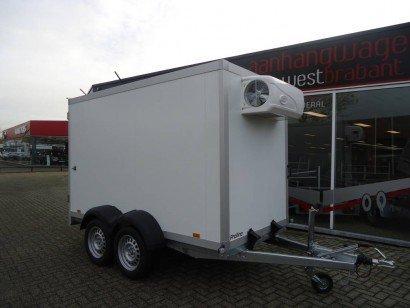 Proline vriesaanhanger 300x160x180cm vriesaanhangwagens Aanhangwagens XXL West Brabant hoofd Aanhangwagens XXL West Brabant