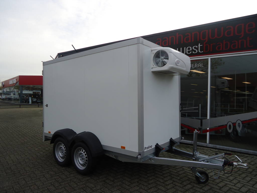 Proline vriesaanhanger 300x160x180cm 2500kg Proline vriesaanhanger 300x160x180cm vriesaanhangwagens Aanhangwagens XXL West Brabant hoofd