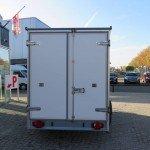 Proline vriesaanhanger 350x160x180cm vriesaanhangwagens Aanhangwagens XXL West Brabant achterkant Aanhangwagens XXL West Brabant