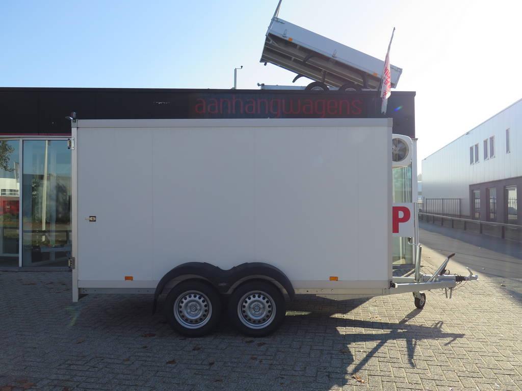 Proline vriesaanhanger 350x160x180cm vriesaanhangwagens Aanhangwagens XXL West Brabant zijkant Aanhangwagens XXL West Brabant