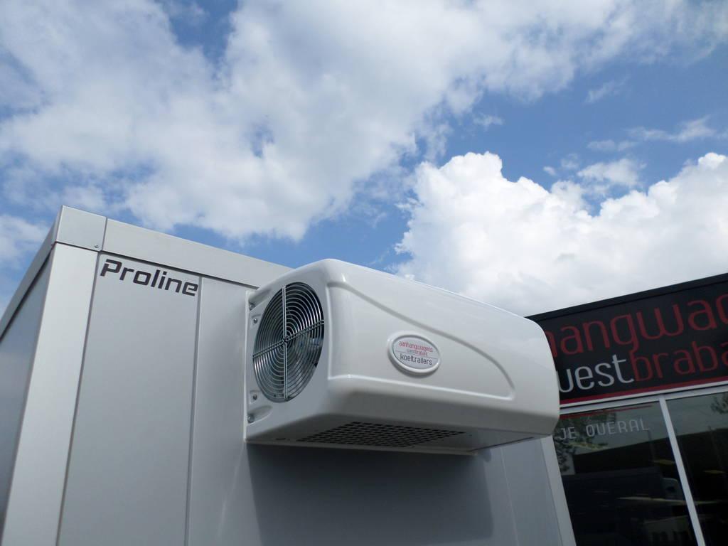 Proline vriesaanhanger 400x175x180cm 2500kg Proline vriesaanhanger 400x175x180cm vriesaanhangwagens Aanhangwagens XXL West Brabant vriesmotor