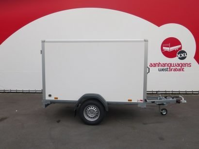 Saris gesloten aanhanger 256x134x150cm 1350kg Aanhangwagens XXL West Brabant 2.0 hoofd