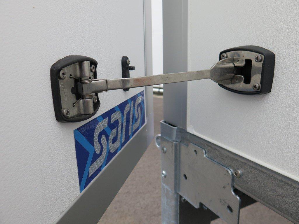 Saris gesloten aanhanger 306x154x180cm 2000kg Aanhangwagens XXL West Brabant 2.0 deurvastzetsysteem Aanhangwagens XXL West Brabant