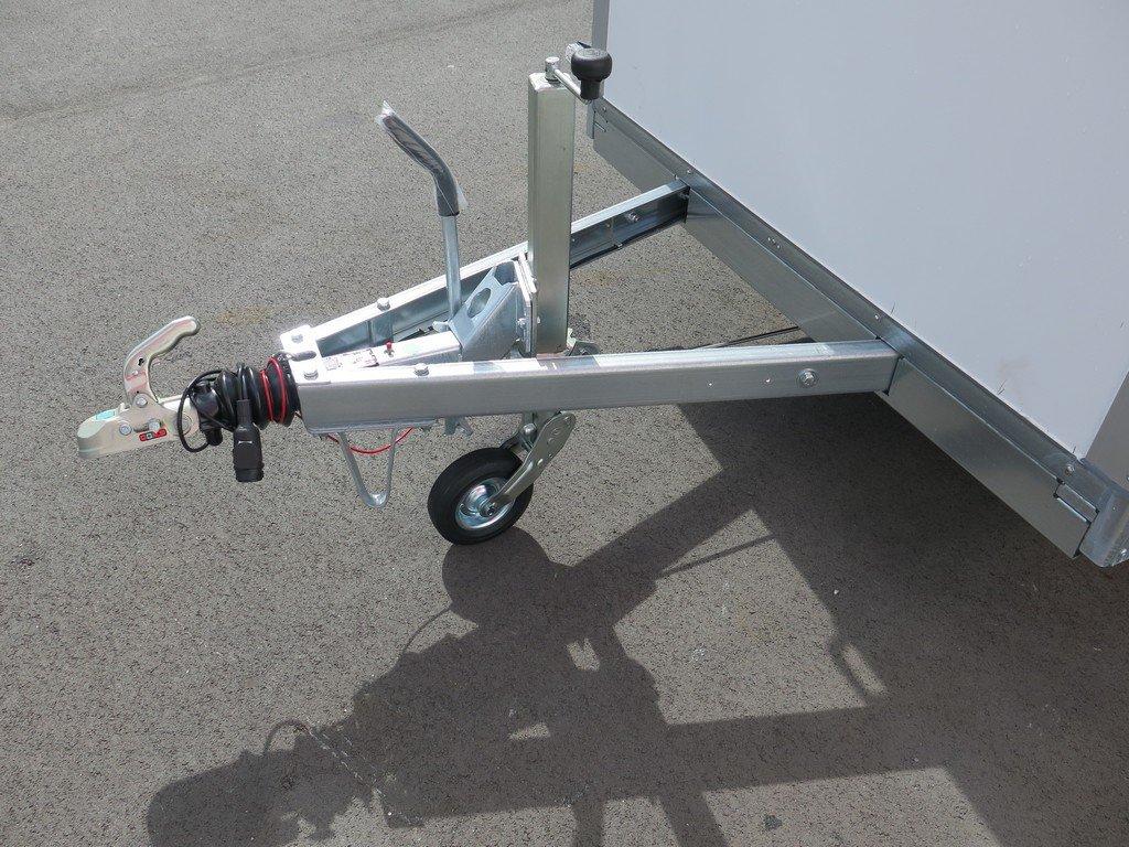 Saris gesloten aanhanger 306x154x180cm 2000kg Aanhangwagens XXL West Brabant 2.0 dissel Aanhangwagens XXL West Brabant