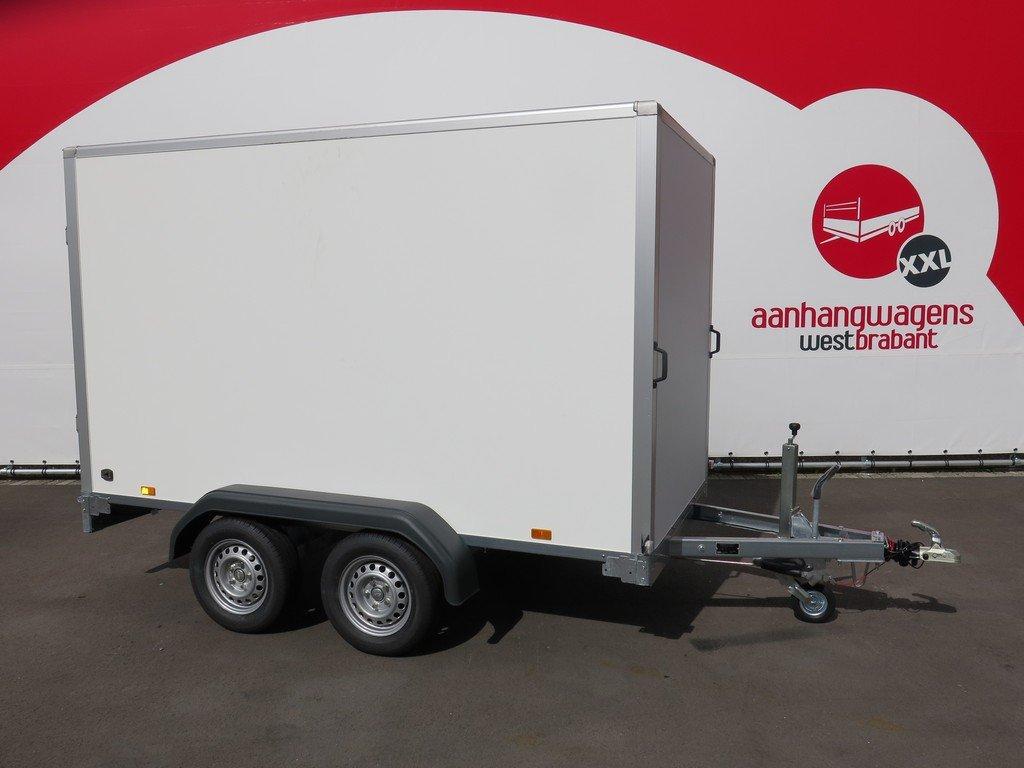 Saris gesloten aanhanger 306x154x180cm 2000kg Aanhangwagens XXL West Brabant 2.0 hoofd Aanhangwagens XXL West Brabant