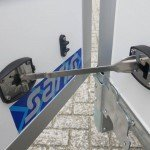 Saris gesloten aanhanger 356x169x180cm 2700kg Aanhangwagens XXL West Brabant 2.0 deurvastzetter Aanhangwagens XXL West Brabant