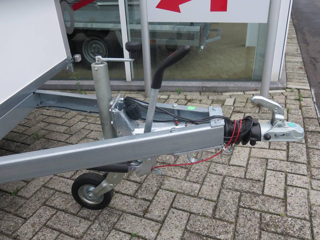Saris gesloten aanhanger 356x169x180cm 2700kg Aanhangwagens XXL West Brabant 2.0 dissel Aanhangwagens XXL West Brabant