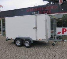 Saris gesloten aanhanger 356x169x180cm 2700kg Aanhangwagens XXL West Brabant 2.0 hoofd Aanhangwagens XXL West Brabant