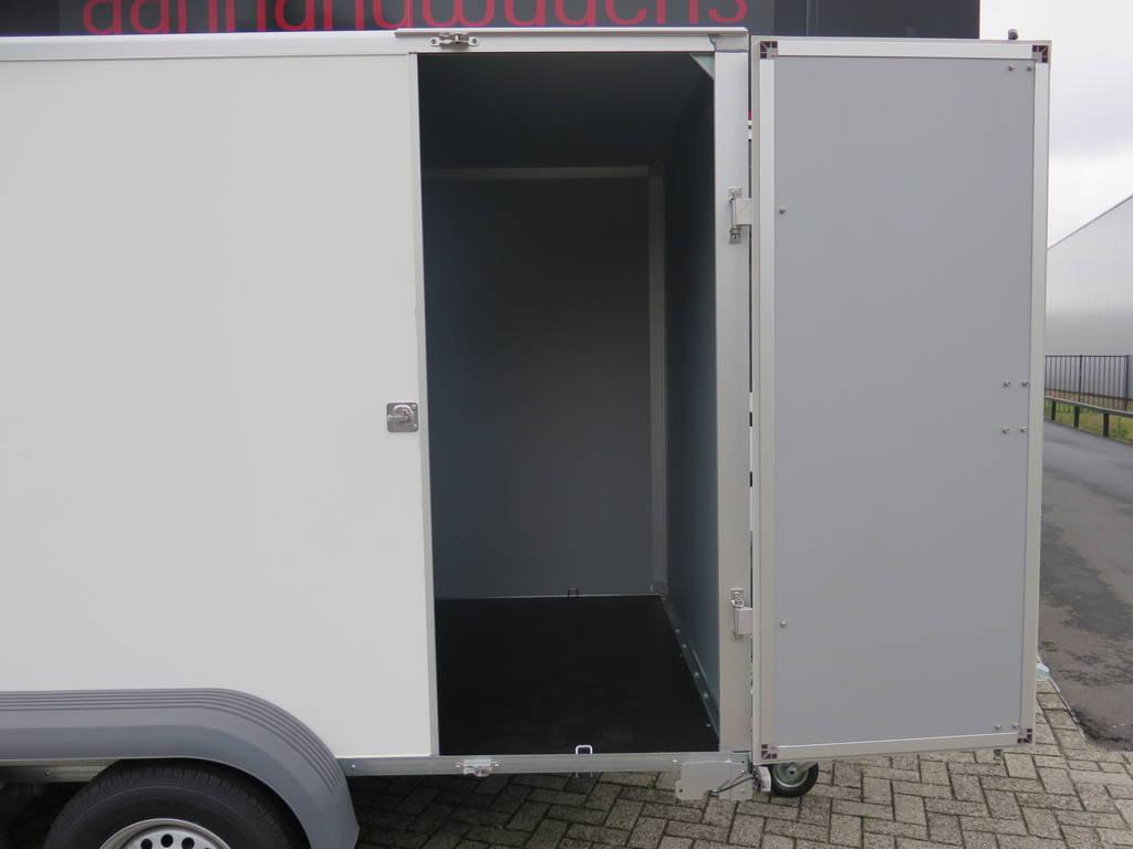 Saris gesloten aanhanger 356x169x180cm 2700kg Aanhangwagens XXL West Brabant 2.0 zijdeur Aanhangwagens XXL West Brabant