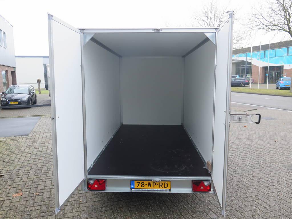 Saris gesloten aanhanger 356x169x180cm 2700kg Aanhangwagens XXL West Brabant 3.0 binnenkant Aanhangwagens XXL West Brabant