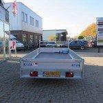 Saris plateau 406x184cm 2000kg plateauwagens Aanhangwagens XXL West Brabant achterkant
