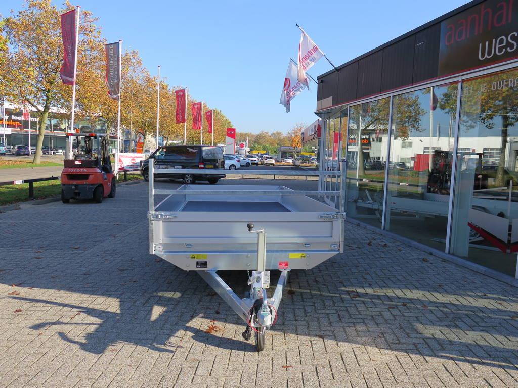 Saris plateau 406x184cm 2000kg plateauwagens Aanhangwagens XXL West Brabant voorkant