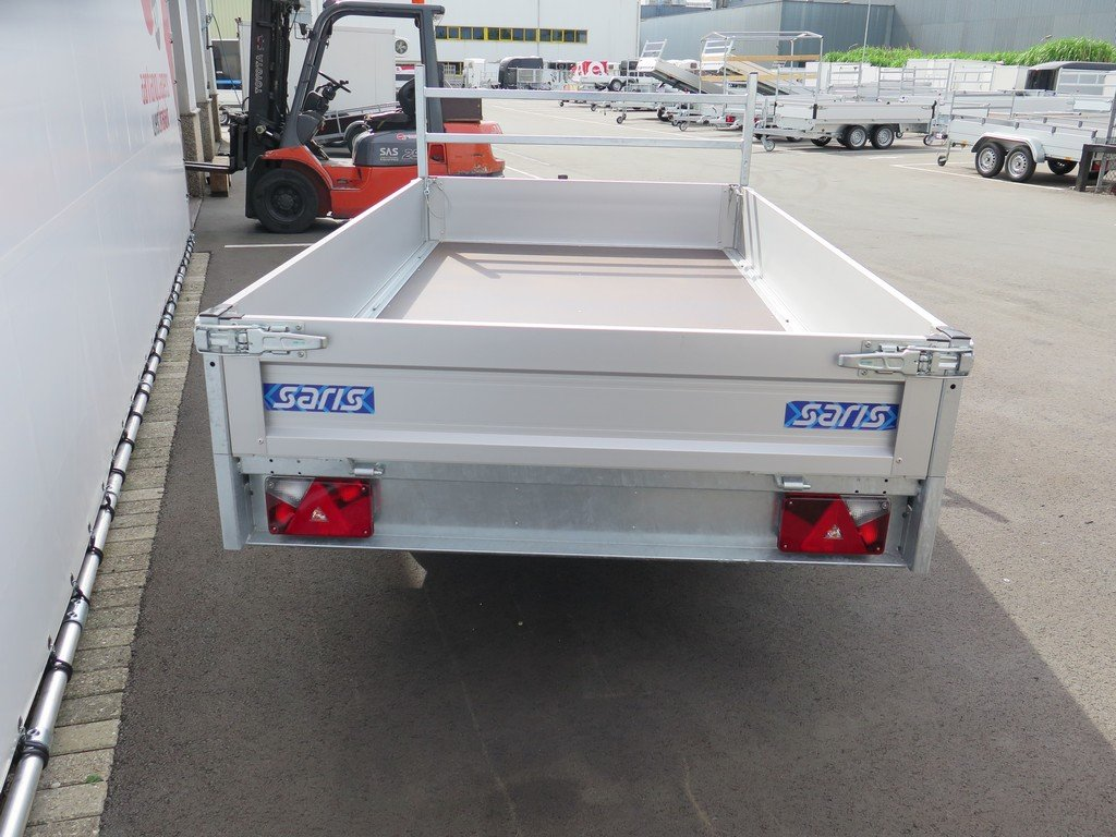 Saris plateauwagen 270x150cm 1350kg Aanhangwagens XXL West Brabant 3.0 achter dicht Aanhangwagens XXL West Brabant
