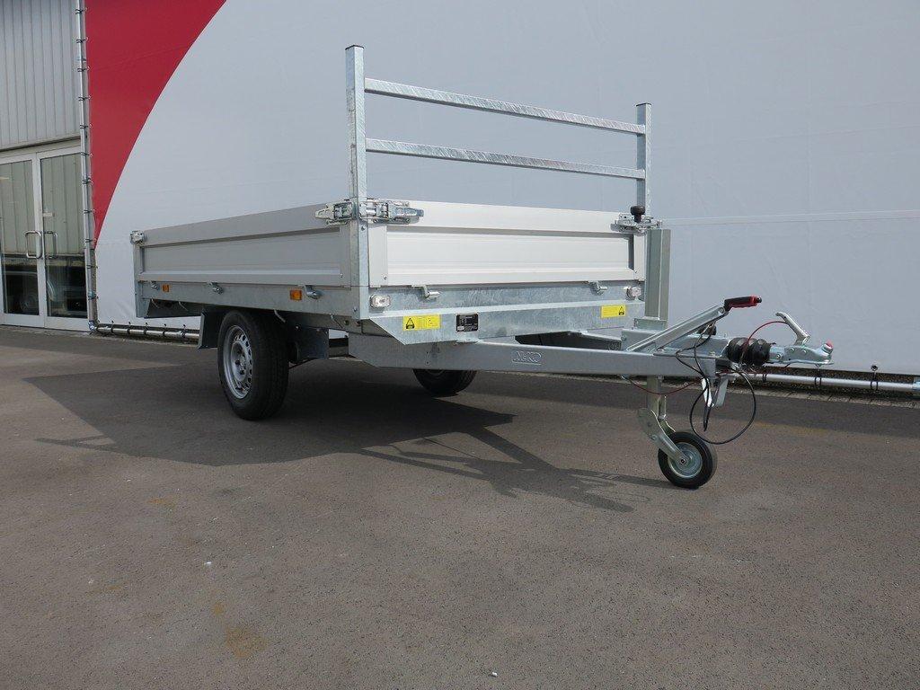 Saris plateauwagen 270x150cm 1350kg Aanhangwagens XXL West Brabant 3.0 schuin voor Aanhangwagens XXL West Brabant
