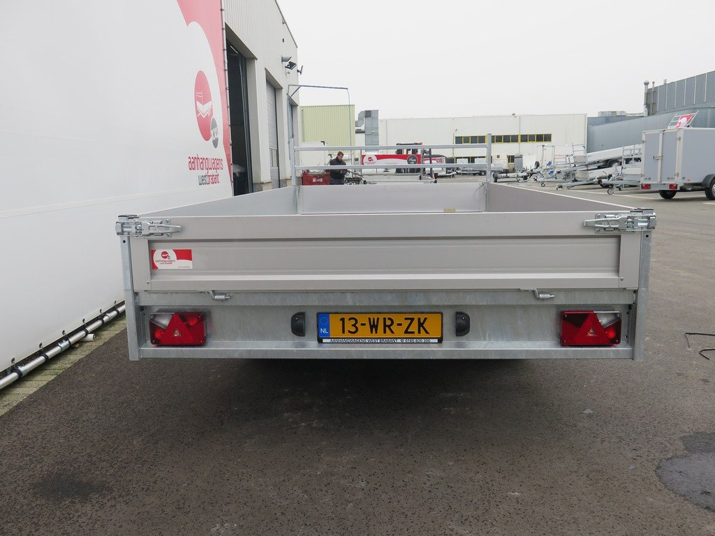 Saris plateauwagen 406x204cm 2700kg