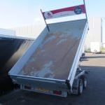 Verhuur 17A. 2700kg Proline elektrische kipper 300x184cm Aanhangwagens XXL West Brabant bak Aanhangwagens XXL West Brabant