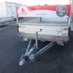 Verhuur 17A. 2700kg Proline elektrische kipper 300x184cm Aanhangwagens XXL West Brabant voorkant Aanhangwagens XXL West Brabant