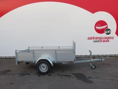 Anssems enkelas aanhanger 251x130cm 750kg alu Aanhangwagens XXL West Brabant 3.0 hoofd Aanhangwagens XXL West Brabant