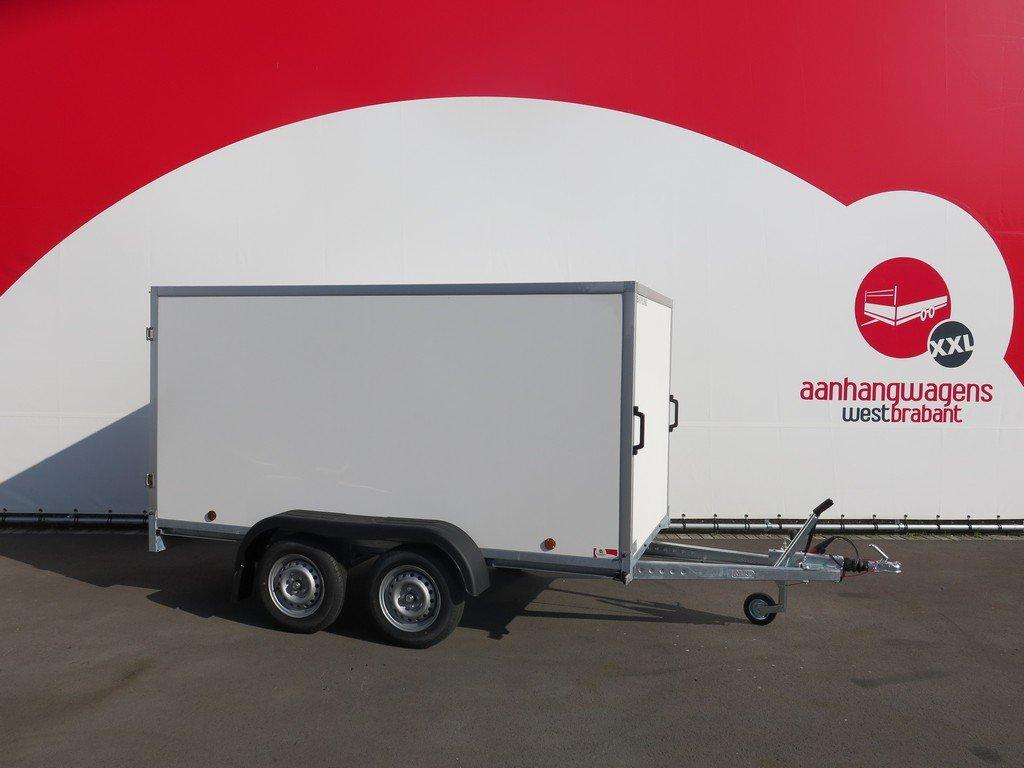 Easyline gesloten aanhanger 300x147x150cm 1600kg Easyline gesloten aanhanger 300x150x150cm 1500kg Aanhangwagens XXL West Brabant 2.0 hoofd