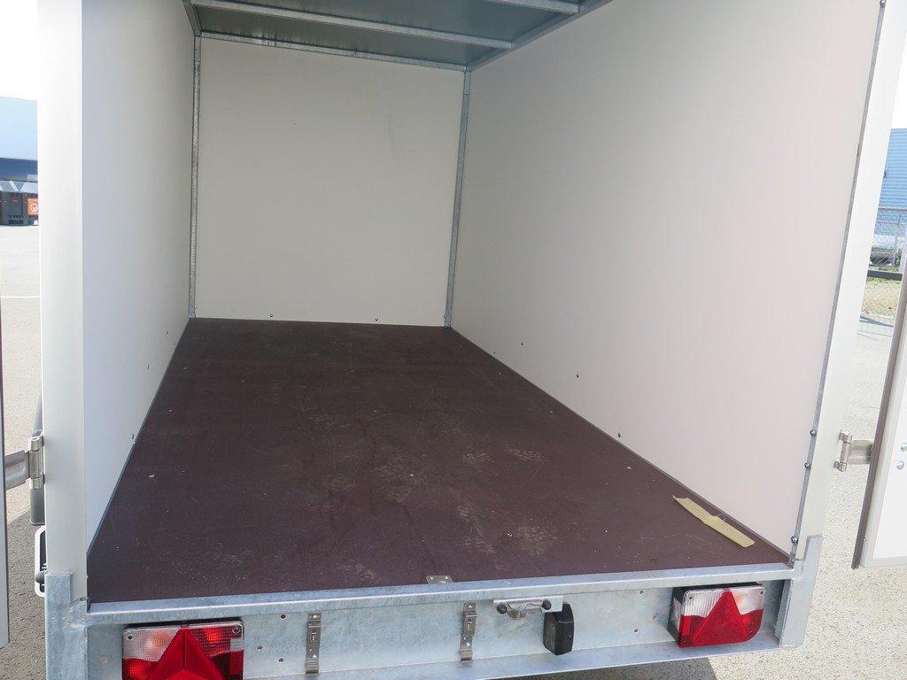 Easyline gesloten aanhanger 300x147x150cm 1600kg Easyline gesloten aanhanger 300x150x150cm 1500kg Aanhangwagens XXL West Brabant 2.0 vloer