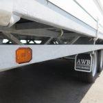 Hulco plateauwagen 500x200cm 3500kg tridemas Aanhangwagens XXL West Brabant touwhaken Aanhangwagens XXL West Brabant