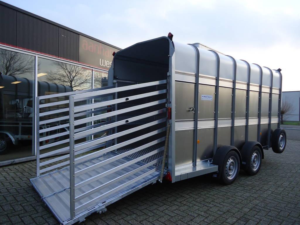 Ifor Williams veetrailer 427x178x213cm veetrailers Aanhangwagens XXL West Brabant oploopklep Aanhangwagens XXL West Brabant