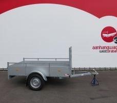 Loady enkelas aanhanger 200x132cm 750kg alu Aanhangwagens XXL West Brabant 2.0 hoofd Aanhangwagens XXL West Brabant
