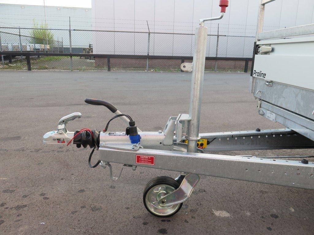 Proline kipper 301x185cm 3500kg Aanhangwagens XXL West Brabant 2.0 dissel Aanhangwagens XXL West Brabant