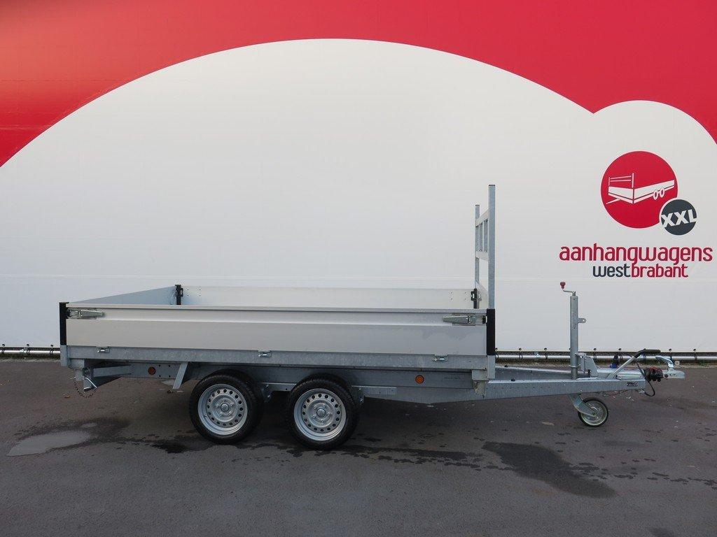 Proline kipper 301x185cm 3500kg Aanhangwagens XXL West Brabant 2.0 vlak Aanhangwagens XXL West Brabant