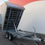 Proline kipper 301x185cm 3500kg Aanhangwagens XXL West Brabant 2.0 voorkant Aanhangwagens XXL West Brabant