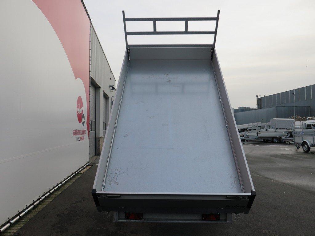 Proline kipper 351x185cm 2700kg Aanhangwagens XXL West Brabant 3.0 bak Aanhangwagens XXL West Brabant