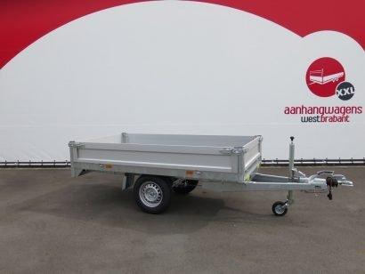 Saris plateauwagen 255x135cm 1400kg Aanhangwagens XXL West Brabant 3.0 hoofd