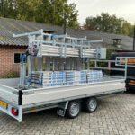 Proline plateauwagen 401x202cm 2700kg verlaagd