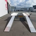 Anssems autotransporter 400x188cm 1500kg Anssems autotransporter 400x188cm 1500kg Aanhangwagens XXL West Brabant 3.0 achter rijplaten