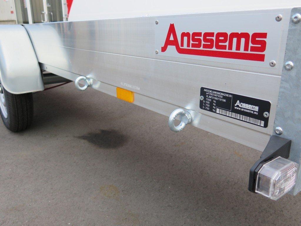 Anssems autotransporter 400x188cm 1500kg Aanhangwagens XXL West Brabant 3.0 bindogen Aanhangwagens XXL West Brabant