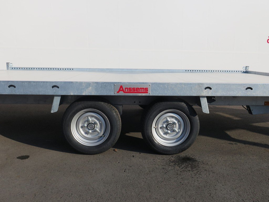 Anssems autotransporter 405x200cm 2700kg Aanhangwagens XXL West Brabant 2.0 zijkant Aanhangwagens XXL West Brabant