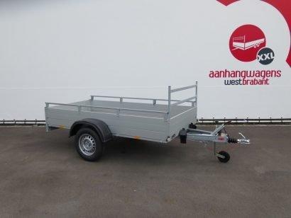 Anssems enkelas aanhanger 251x126cm 1200kg Aanhangwagens XXL West Brabant 3.0 hoofd Aanhangwagens XXL West Brabant