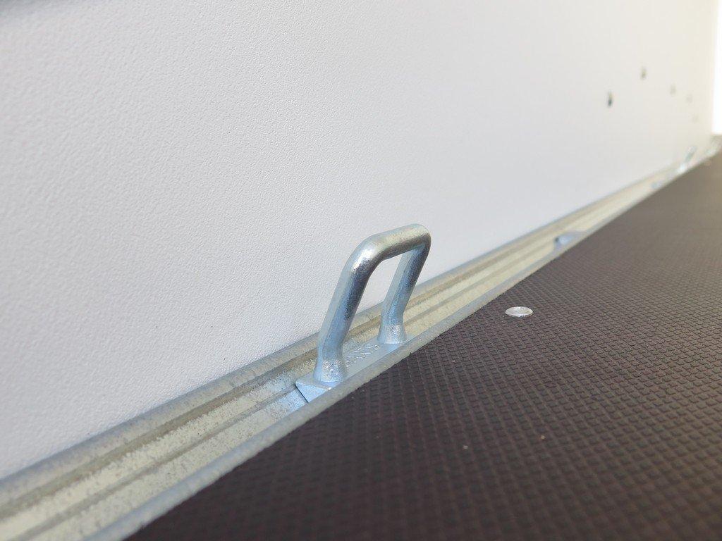 Saris gesloten aanhanger 306x154x180cm 2000kg grijs Aanhangwagens XXL West Brabant 2.0 bindogen Aanhangwagens XXL West Brabant