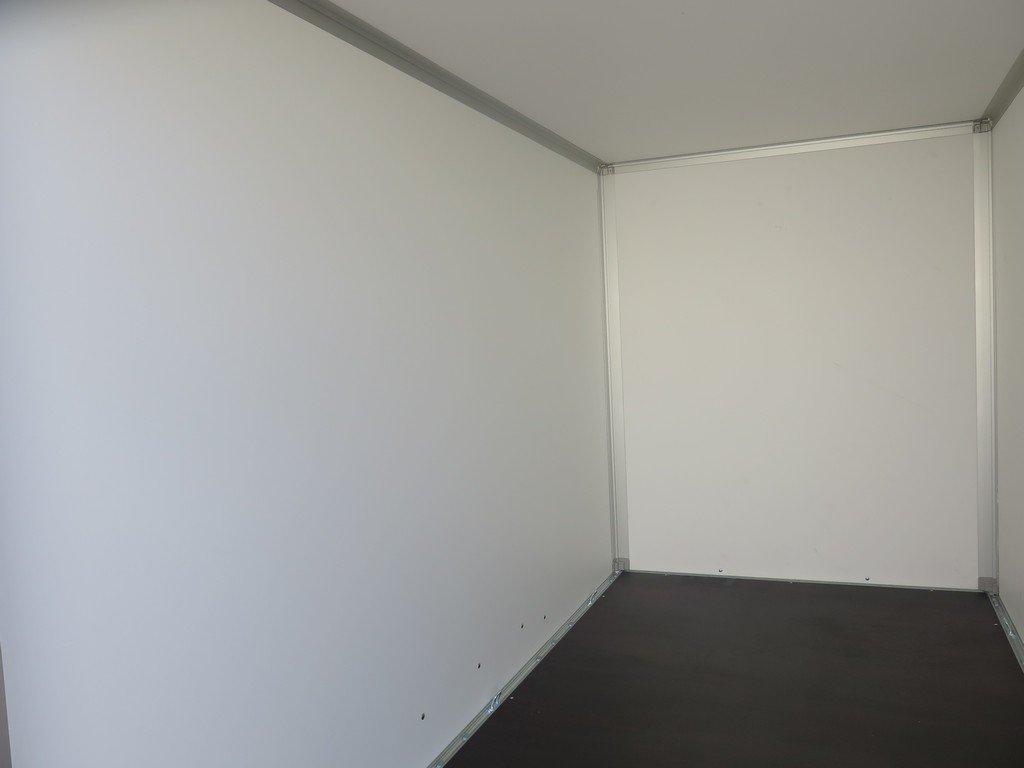 Saris gesloten aanhanger 306x154x180cm 2000kg grijs Aanhangwagens XXL West Brabant 2.0 binnenkant Aanhangwagens XXL West Brabant
