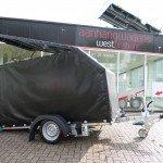 Proline zakbaar met huif 260x155x170cm 1400kg motortrailer Aanhangwagens XXL West Brabant hoofd Aanhangwagens XXL West Brabant