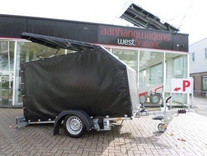 Proline zakbaar met huif 260x155x170cm 1400kg motortrailer Aanhangwagens XXL West Brabant hoofd