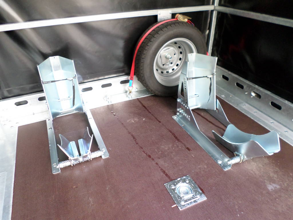 Proline zakbaar met huif 260x155x170cm 1400kg motortrailer Aanhangwagens XXL West Brabant steunen Aanhangwagens XXL West Brabant